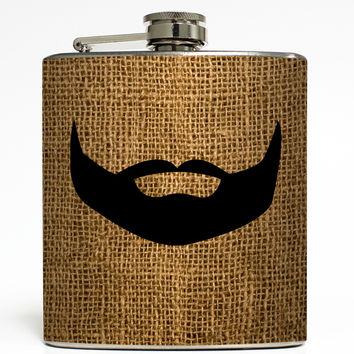 Fear The Beard - Facial Hair Flask