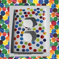 The Very Hungry Caterpillar Polka Dot Wall Outlet Plate