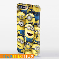 Despicable Me New And Friend iPhone 4/4S, 5/5S, 5C Series Full Wrap Case