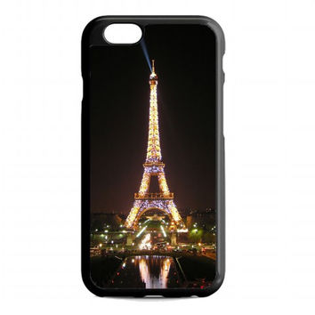 Paris Eiffel Tower night For iphone 6s case