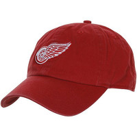 NHL Detroit Red Wings Clean Up Cap, One Size, Red