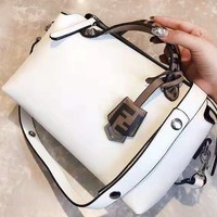 FENDI fashionable lady casual shoulder bag hot seller of shopping patchwork bag