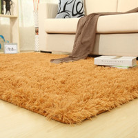 Hot Sale Super Soft Hight Quality Bedroom Living Room Carpet Pure Color Coffee Table Floor Hallway Door Mat Bathroom Rug