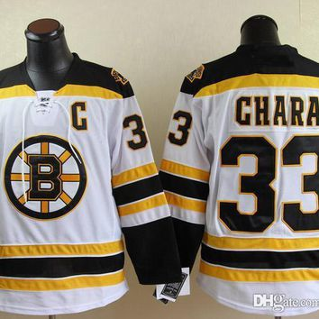 Boston Bruins #4 Bobby Orr #33 zdeno chara #37 patrice bergeron Cheap Hockey Hooded Stitched Old Time Hoodies Sweatshirt Jerseys