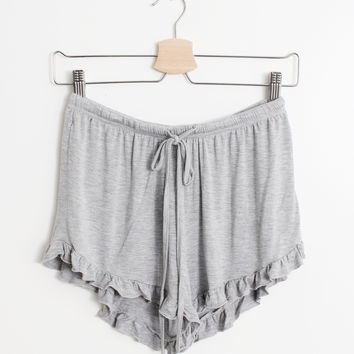 Heather Frill Shorts