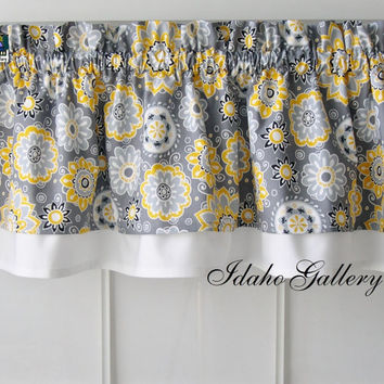 Best Yellow Valance Products On Wanelo