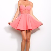 HelloMolly | L.A. Love Dress Coral