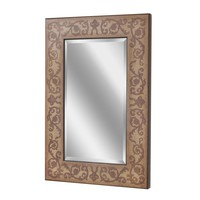 Regency Scroll Gold Wall Mirror (1067) - Illuminada