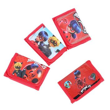 1pc Miraculous Ladybug Cat Mini Coin Purse Cartoon Puppy Dog Wallet Party Favor Gift Kid Boy Birthday Event Gift