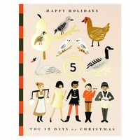 12 Days Of Christmas Boxed Holiday Cards