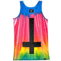 Cross Tie Dye Vest [RB] | KILLSTAR