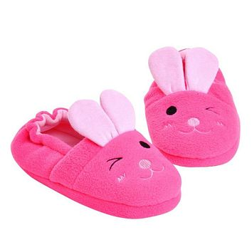 Free Shipping Slippers Kids Winter Girls Boys For Children Newborn Baby Soft Warm Walkers Shoes pantoffels kinderen