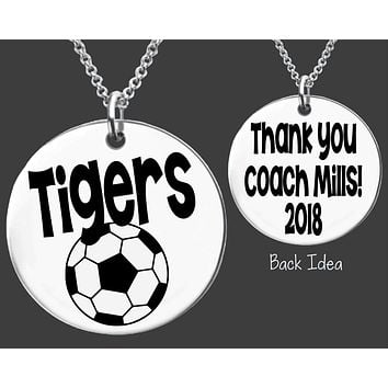 Soccer Coach Necklace