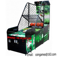 Amusement Park Equipment Arcade Coin Operated Street Basketball Games Machines