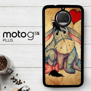 Eeyore Wallpaper Y0311  Motorola Moto G5S Plus Case