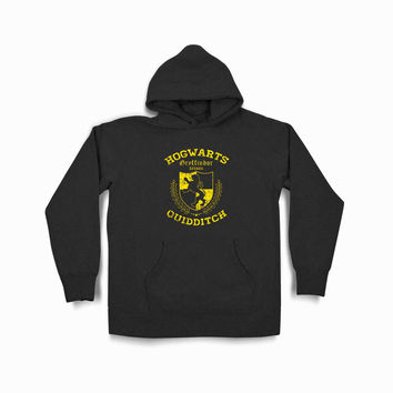 Gryffindor Quidditch Harry Potter Syf Black Hoodie
