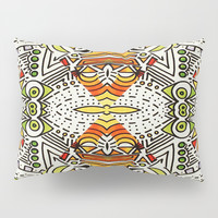 Seeing Tribe Pillow Sham by DuckyB