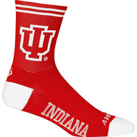 Indiana Hoosiers NCAA Cycling Socks