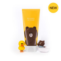 [MISSHA] (Line Friends Edition) Flower Bouquet Cleansing Foam [Maylily]