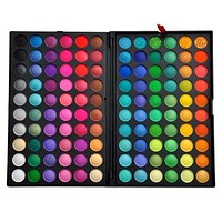 Pro 120 Full Color Eyeshadow Cosmetics Mineral Eye Shadow Palette Makeup Kit