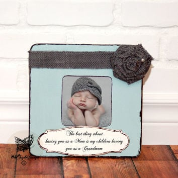 Mother' Day Grandma Gift Personalized Picture Frame Grandparents Gift Personalized Frame Gift Grandparents from Grandchildren Grandkids