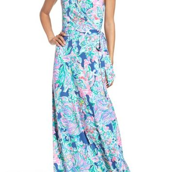 Lilly Pulitzer® Delfina Wrap Maxi Dress | Nordstrom
