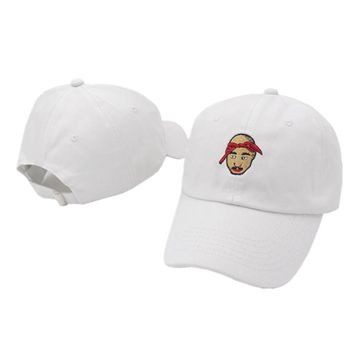 VORON Tupac Shakur cap ALL EYES ON ME men women 2pac Hip hop Baseball Cap Curved Bill Dad Hat 100% Cotton SWAG snapback cap hats