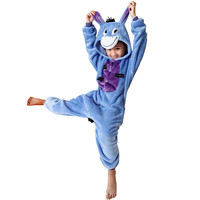 Blue Donkey Print Suits Onesuits Pajamas