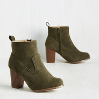 Cabinet of Odysseys Bootie | Mod Retro Vintage Boots | ModCloth.com