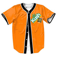 Orange Kush Jersey Shirt