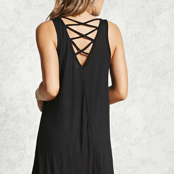 Strappy Crisscross Mini Dress