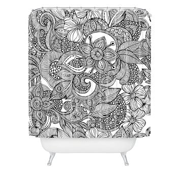Valentina Ramos Doodles Shower Curtain
