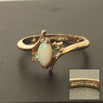 Opal Ring, Coppercraft Ring