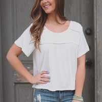Scenic Route Top - Ivory