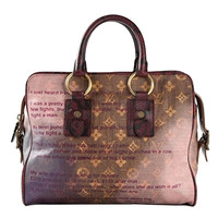 Louis Vuitton x Richard Prince 'Mancrazy Jokes' tote
