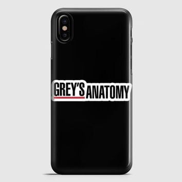 GreyS Anatomy iPhone X Case