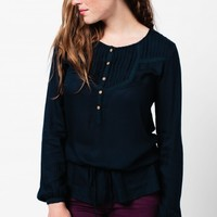 *Relaxed Navy Tunic*