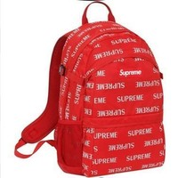 cc hcxx Red Limited Edition Supreme Backpack
