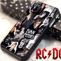 Evan Peters Collage - for iPhone 4/4s/5/5s/5c - iPod 2/4/5 - Samsung Galaxy s2/s3/s4/s5 Case