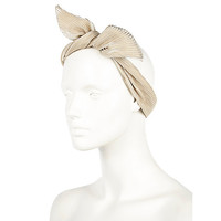 River Island Womens Gold tone wired hair wrap