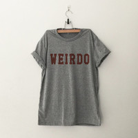 Weirdo T-Shirt womens girls teens unisex grunge tumblr instagram blogger punk  hipster gifts merch
