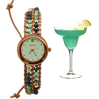 Green Stones Watch
