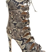 Phyton Nikita Lace Up High Heels Sandals- FINAL SALE
