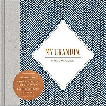 My Grandpa: In His Own Words | Interview Journal | Hardcover Book