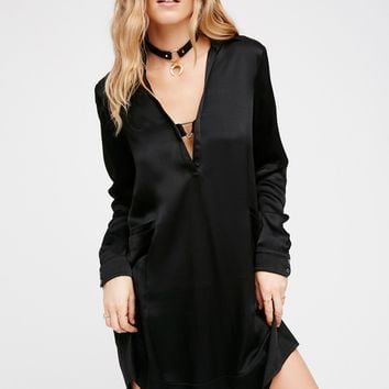 Free People Bad Habits Mini Dress