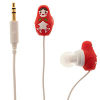 Country House Earbuds in Nesting Dolls | Mod Retro Vintage Electronics | ModCloth.com