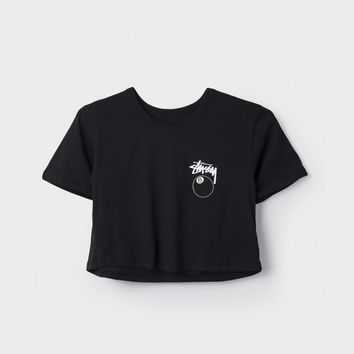 8 Ball Classic Cropped Tee
