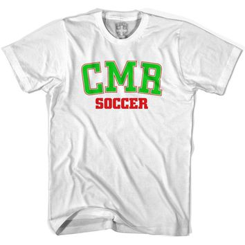 Cameroon CMR Soccer Country Code T-shirt-Adult