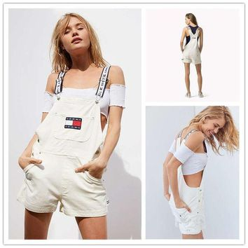 Gotopfashion Tommy Jeans ¡®90s Shortall Overall | Urban Outfitters H-YF-MLBKS