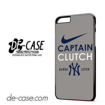 Derek Jeter Captain Clutch New York Yankees DEAL-3172 Apple Phonecase Cover For Iphone 6/ 6S Plus